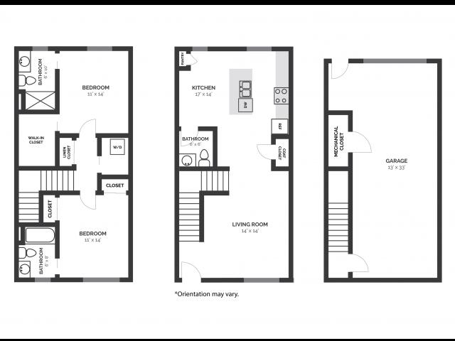 2D Floorplan T2