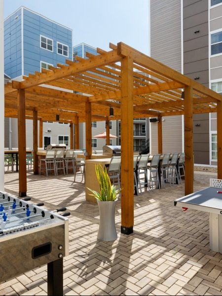 Gaming Gazebo |  Apartments in Tuscaloosa AL | Alpha