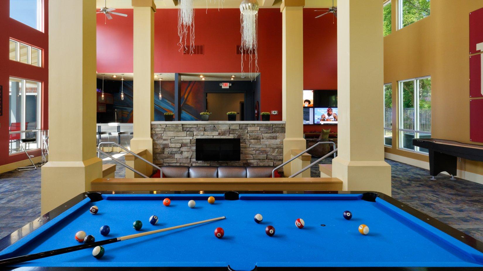 Billiards Boss   Bloomington Apartments   The Village at Muller Park
