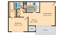 Cheverly Station Floor Plan