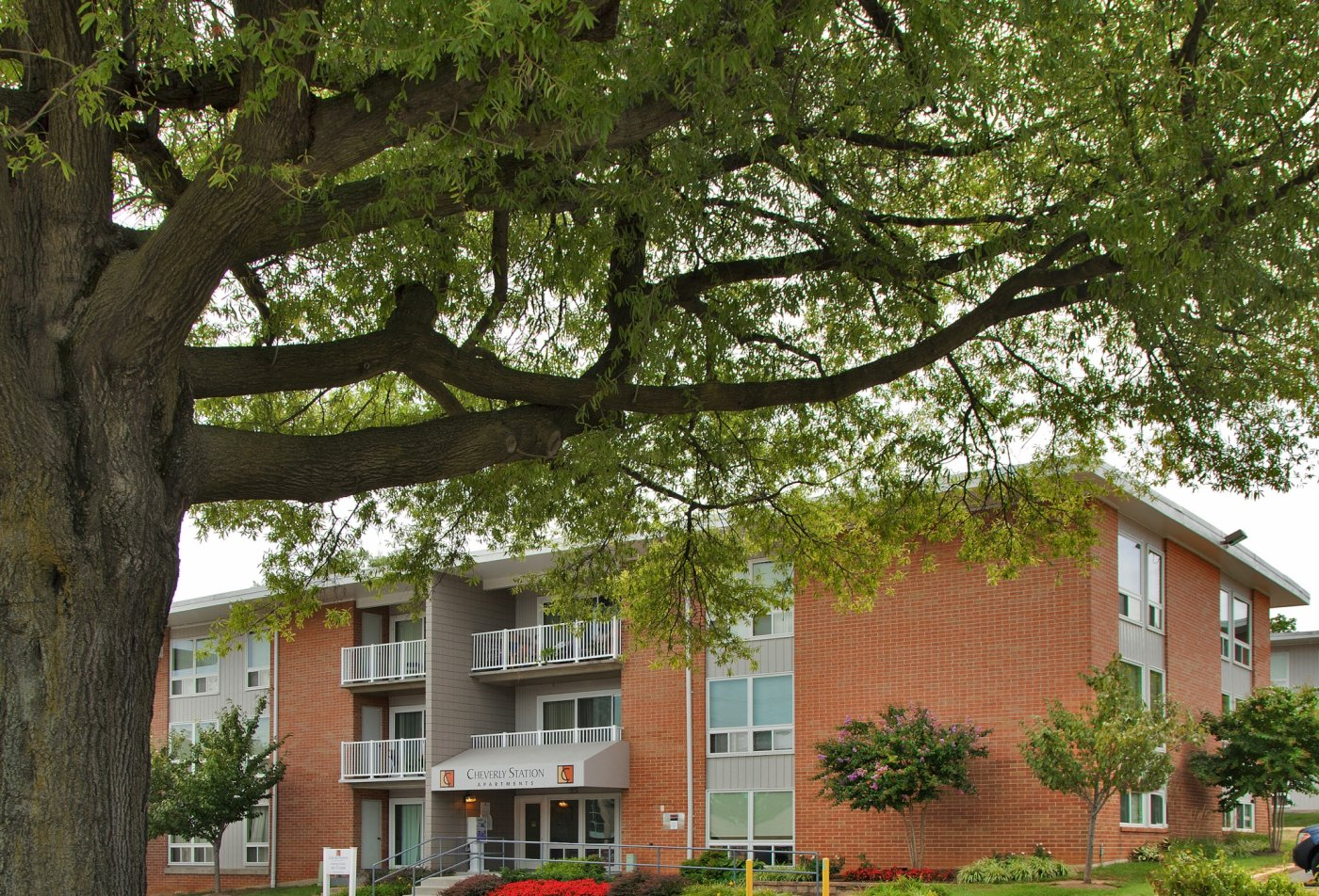 Exterior | Cheverly Station Apartments