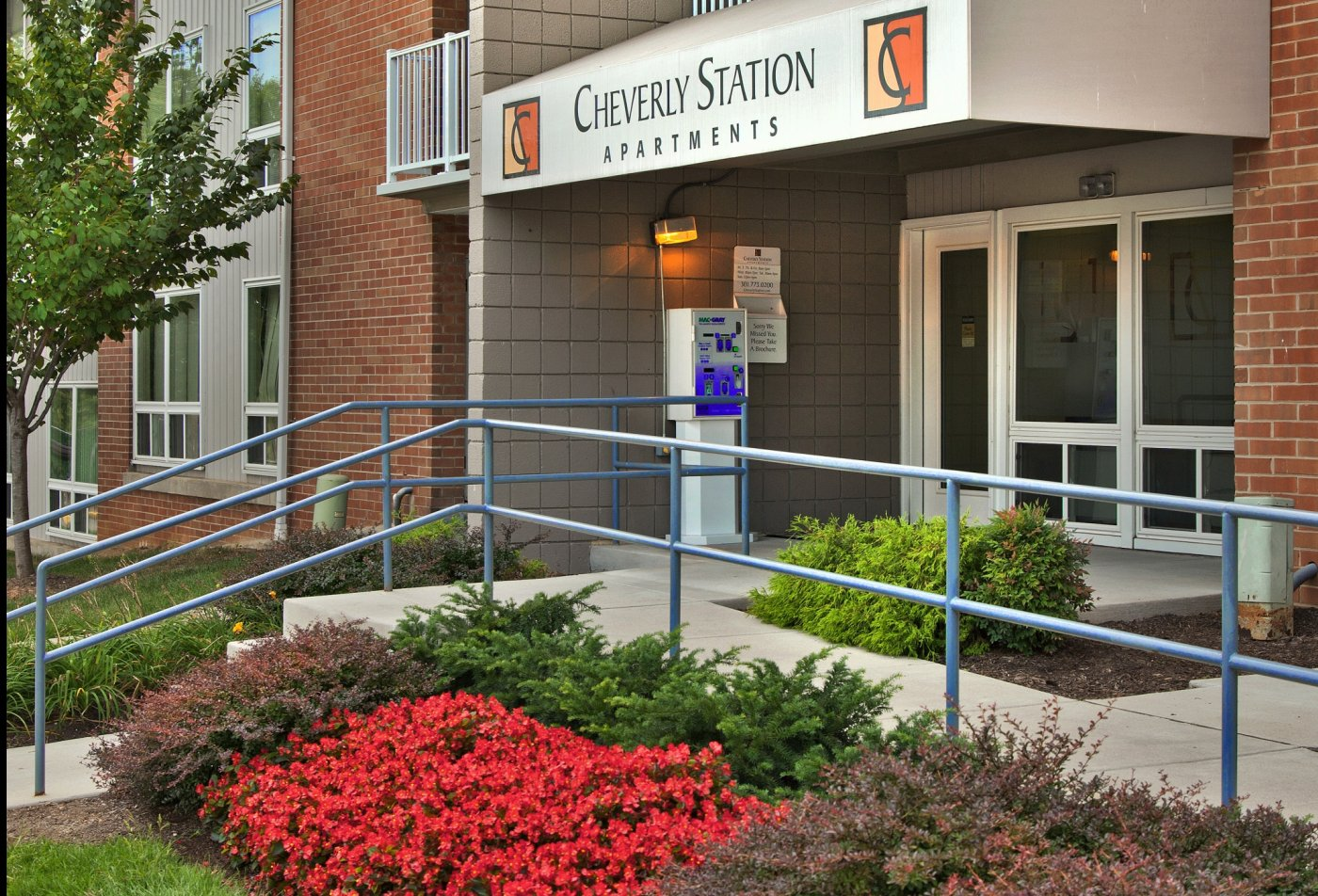 Entrance | Cheverly Station Apartments
