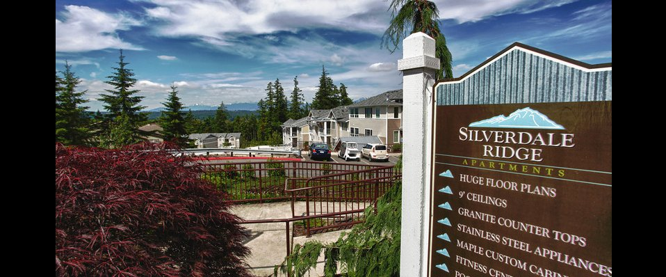 Beautiful Silverdale Ridge Apartments in Silverdale, WA