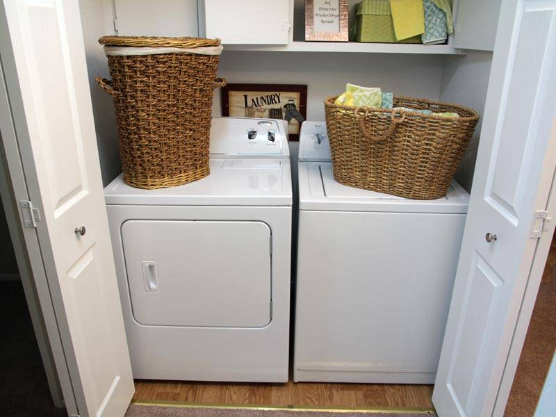 Awesome Washer Dryer Apartment Pictures - Decorating Interior ...
