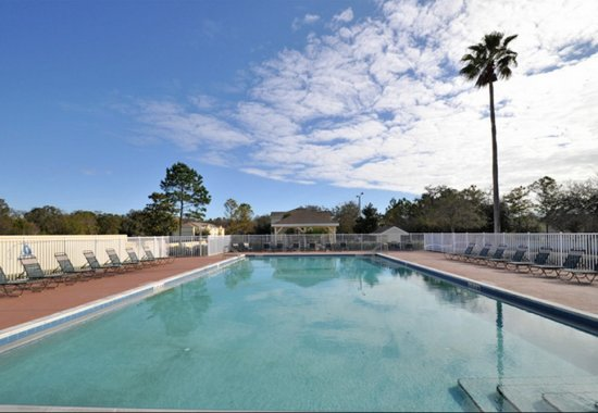 Resort style pool at our apartments in Daytona Beach