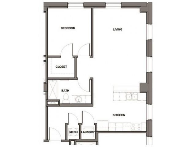 1 Bedroom ADA