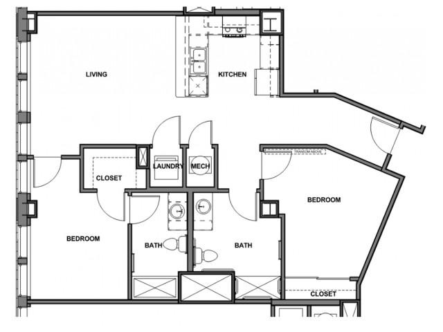2 Bedroom ADA