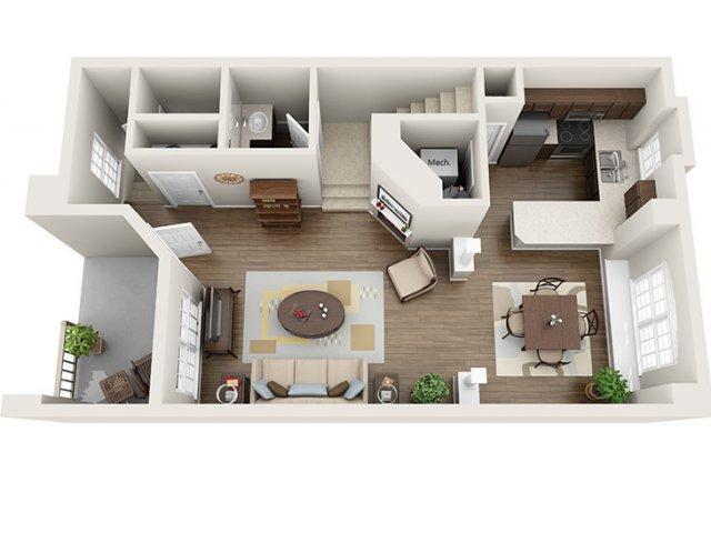 Floor Plan 4 | ALARA Greenwood Village
