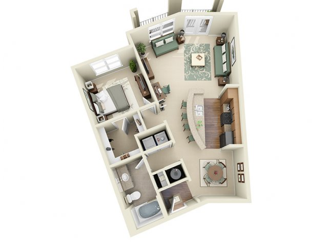 Floor Plan 4 | Weston Lakeside