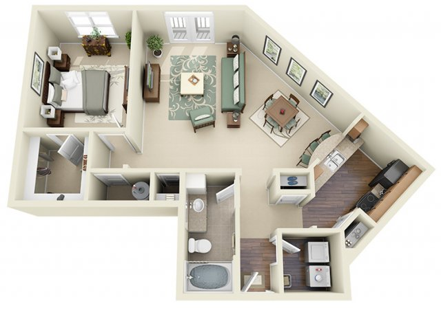 Floor Plan 5 | Weston Lakeside