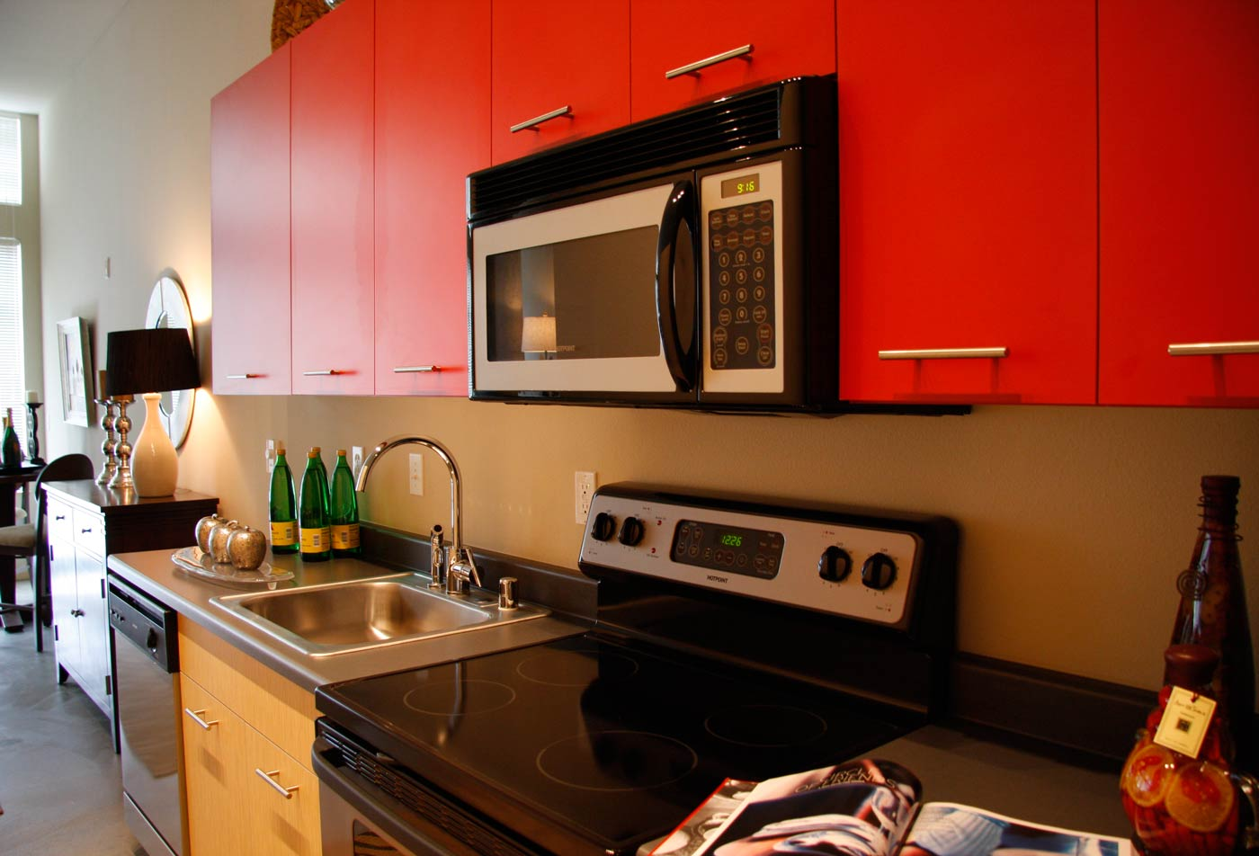 Mural Apartments | Apartments in Seattle WA | Mural Kitchen 2