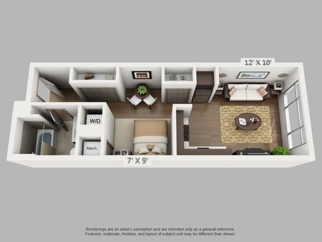 Denver Studio Apartments | Elan Union Station