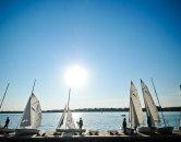 Sailing on Lake Calhoun