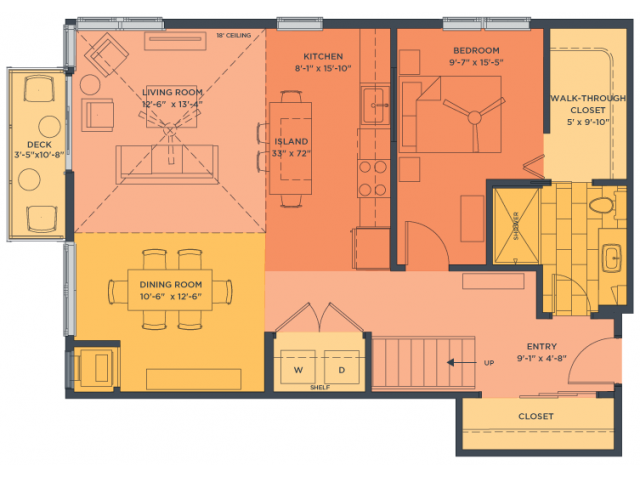 2 bed 2 bath apartment in minneapolis mn track 29 city for Apartment 2d plans