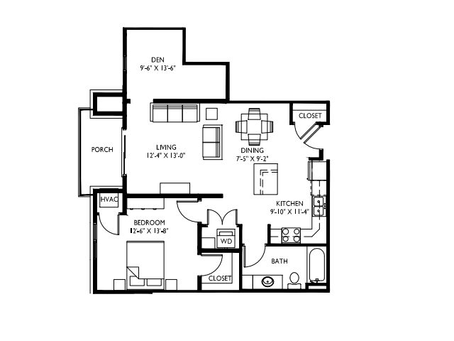 9 foot ceilings-Stainless steel appliances-Wood plank floors-Large Quartz kitchen island-Granite countertops in baths -Full-size washer and dryer- Walk in master closet -Oversized windows-Large deck