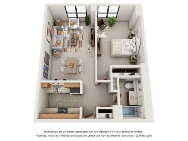 1 Bedroom X-Large