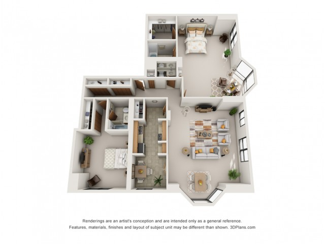 2 Bedroom Penthouse North Tower