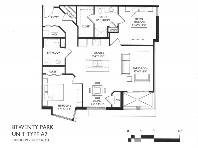 2 Bedroom Style A2
