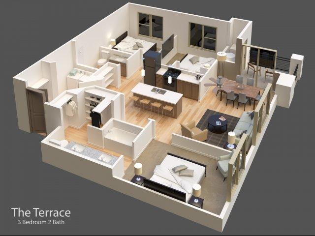 3 bedroom apartments, apartments for rent in Idaho Falls, Idaho