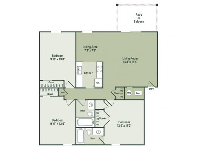 Classic Three Bedroom