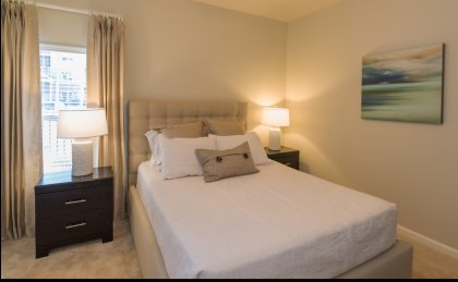 luxury apartments in Portsmouth, VA master bedroom