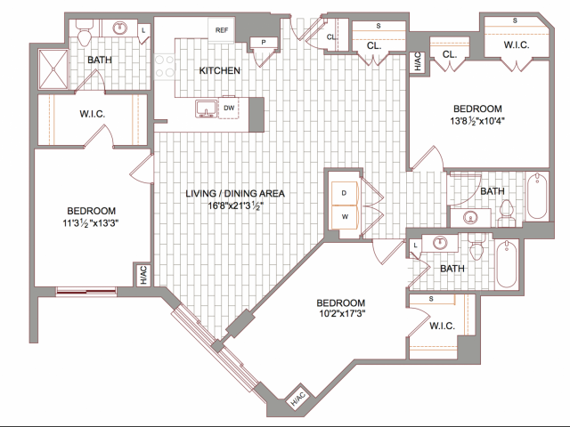 Luxury Studio 1 2 3 Bedroom Apartments In Arlington