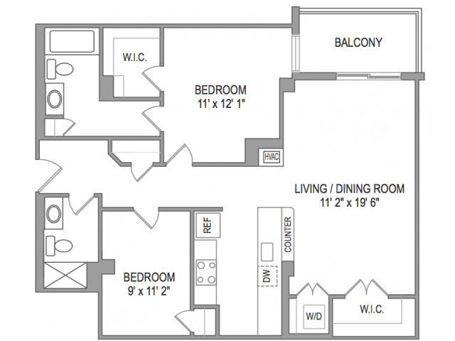 Luxury 1 2 3 4 Bedroom Apartments In Arlington Va