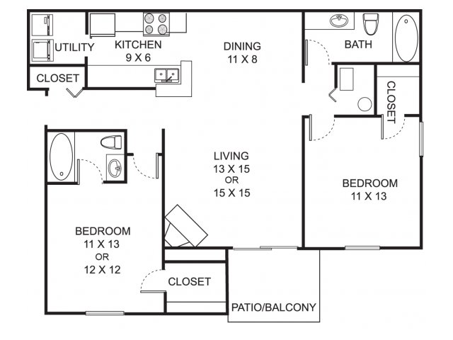 Kalamazoo apartments one bedroom apartments kalamazoo mi for One bedroom apartments kalamazoo mi