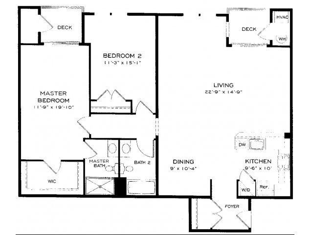 One and two bedroom apartments in fairfax near arlington va for 1 bedroom apartments in fairfax va