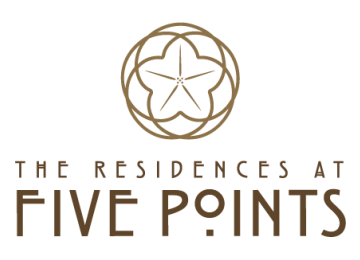 The Residences at Five Points Apartments Logo