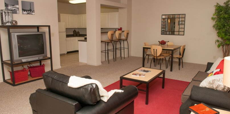 Dining Area at Purdue Apartments For Rent