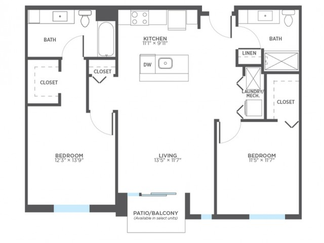 Floor Plan 10 | Milwaukee Apartments | Stitchweld