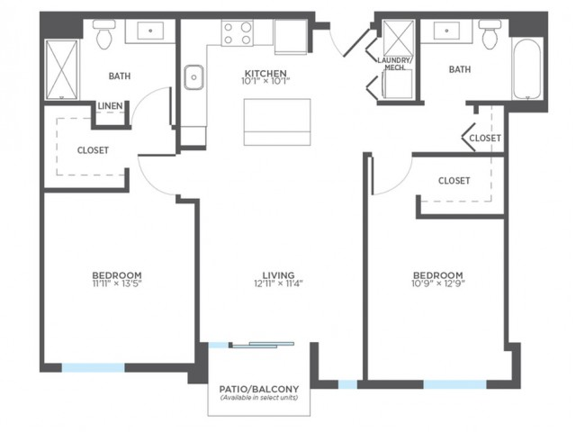 Floor Plan 11 | Apartments For Rent In Milwaukee Wisconsin | Stitchweld