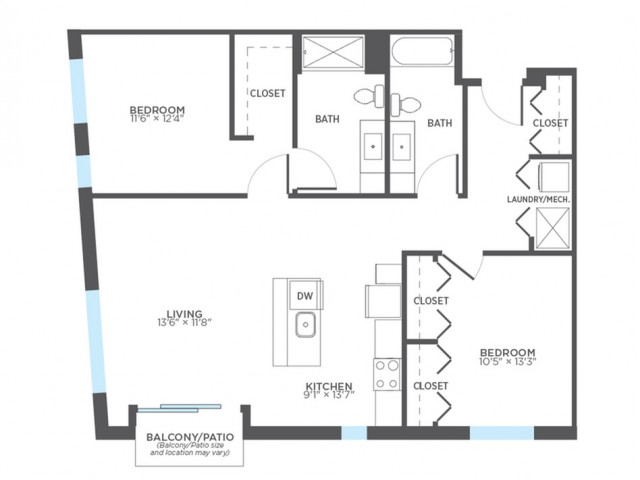 Floor Plan 23 | Rentals In Milwaukee | Stitchweld
