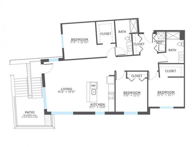 Floor Plan 20 | Milwaukee Apartments | Stitchweld