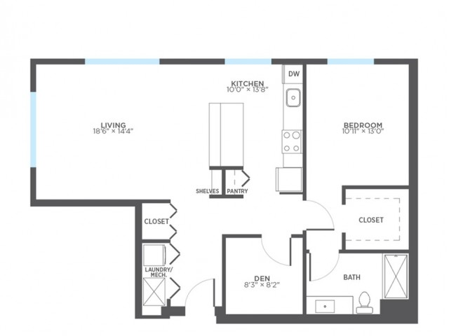 Floor Plan 3 | Rentals In Milwaukee | Stitchweld