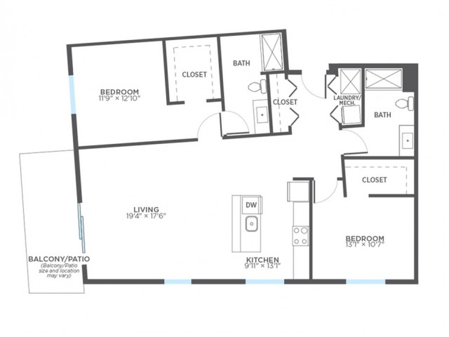 Floor Plan 18 | Rentals In Milwaukee | Stitchweld