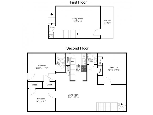 3 bed 2 bath apartment in state college pa university - 3 bedroom apartments state college pa ...