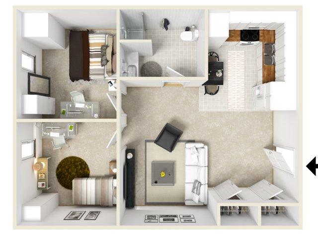 500 Club Apartments