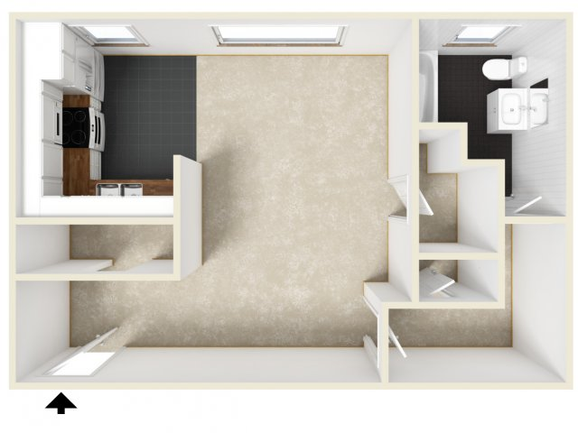 For The Efficiency Unfurnished Floor Plan.