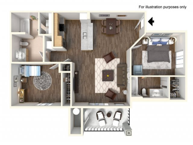 2 bed 2 bath apartment in meridian id the franklin for 1 bedroom apartments in meridian idaho