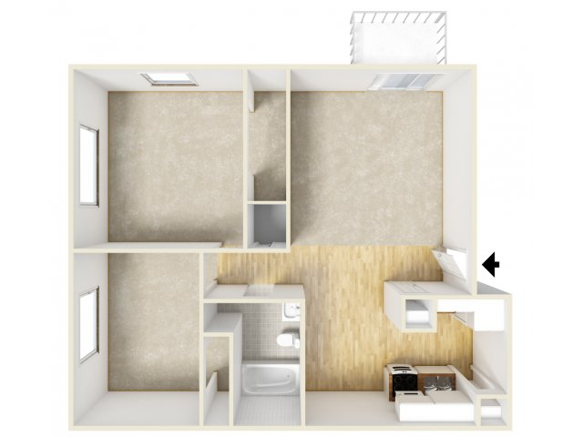 Floor Plan 2 | Farmington Place 2