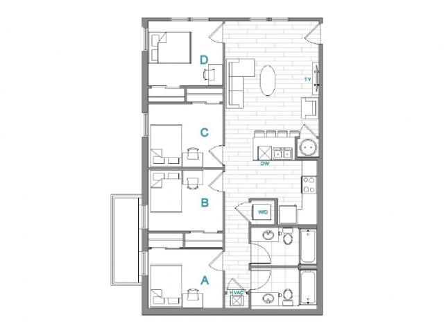 Floor Plan 10   Uncommon Oxford