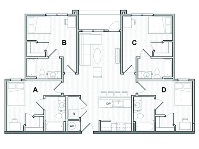 4x4 Balcony A