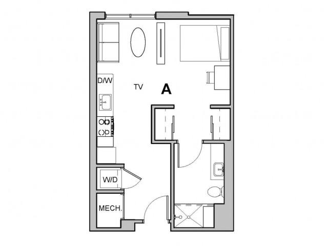 1x1 Junior A Penthouse