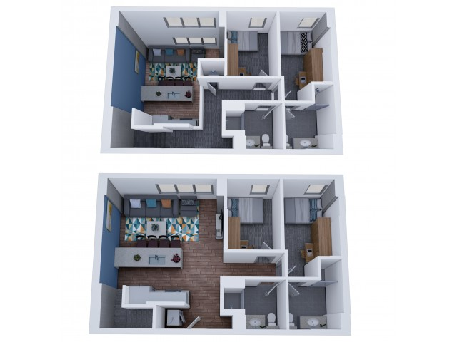 4x4 Terrace