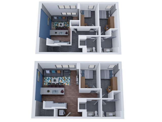 4x4 Master Penthouse
