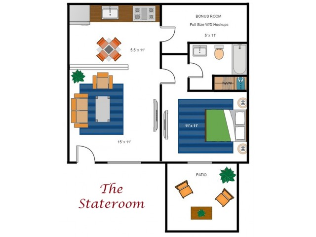 The Stateroom Deluxe