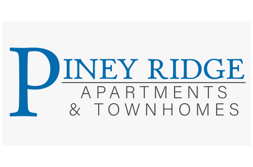 Text-Based Piney Ridge Apartments & Townhomes Logo