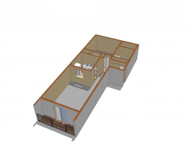 Floor Plan 2 | Crossings at Glassboro | Rowan University Student Housing